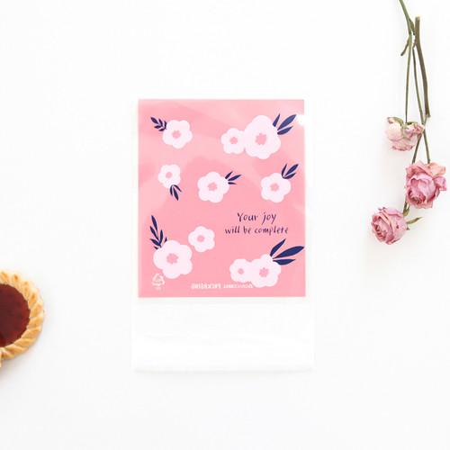 패키징 선물포장 비닐(접착) 02.블루밍부케(10매)