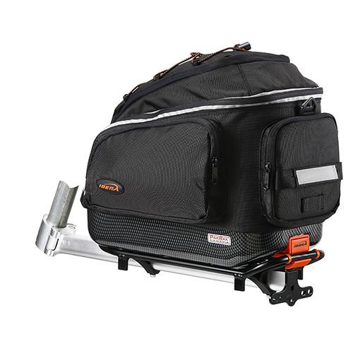 사이클 및 전기자전거 일자형 짐받이 및 대용량 가방 세트
