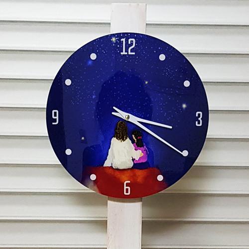 주님과 함께 하는 별밤 시계