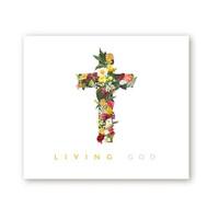 부활절 영상 배경 현수막 - Living GOD