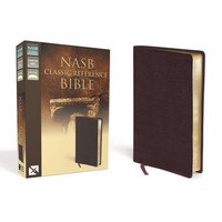 NASB: Classic Reference Bible (Burgundy, Bonded Leather)
