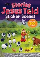 Stories Jesus Told Sticker Scenes (Series:Sticker Scenes) (PB)