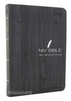 NIV BIBLE 고급 단본(색인/이태리신소재/무지퍼/다크그레이)
