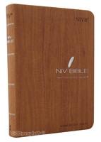 NIV BIBLE 고급 단본(색인/이태리신소재/무지퍼/브라운)