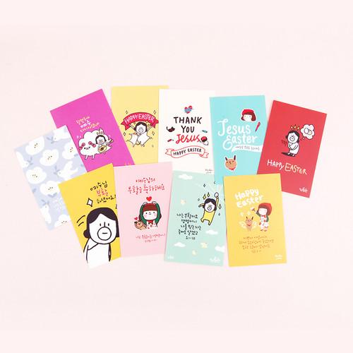 그레이스벨 부활카드 제인·든든 SET (10매)