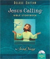 Jesus Calling Bible Storybook Deluxe Edition (HB+Audio CDs) - 내가 좋아하는 그림성경 원서
