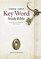 CSB: Hebrew-Greek Key Word Study Bible (HB)
