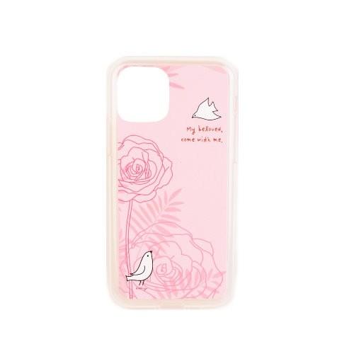 핸드폰 젤리케이스-핑크장미/My beloved (아이폰11/아이폰11프로/갤럭시S10)