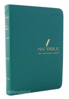 NIV BIBLE 단본(색인/이태리신소재/무지퍼/블루그린)