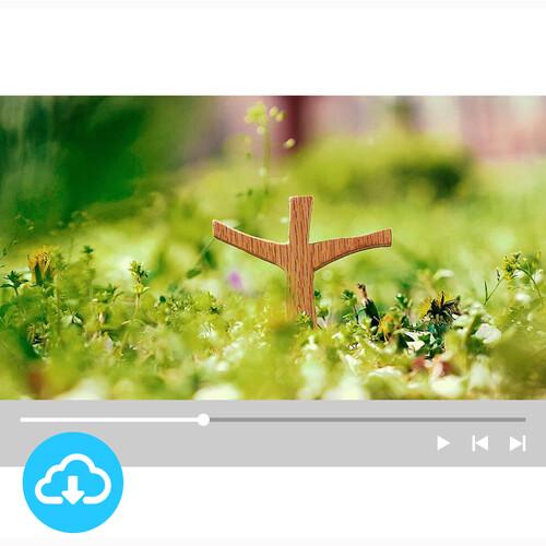 십자가 배경영상 2 by 굿픽 / 이메일발송(파일)