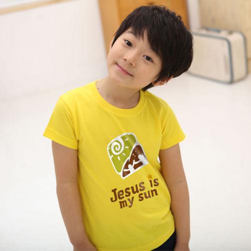 마이제이디_마이썬 티셔츠_아동용(국산순면30수-6색)