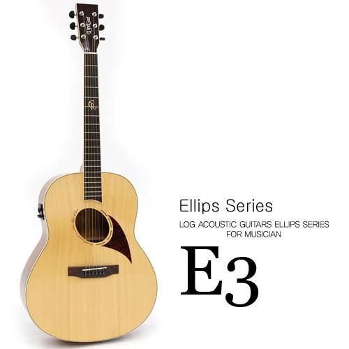 로그 어쿠스틱 기타 엘립스 E3