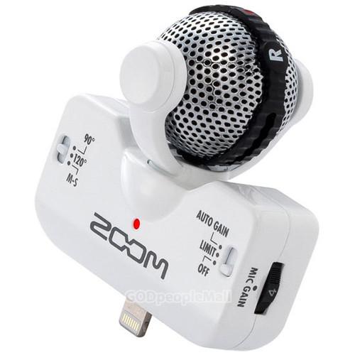 ZOOM iQ5 WH 프로페셔널 스테레오 마이크