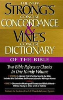 Strongs Concise Concordance and Vines Concise Dictionary of the Bible (Hardcover)