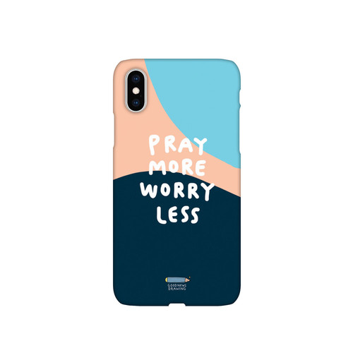 폰케이스 09. Pray more worry less