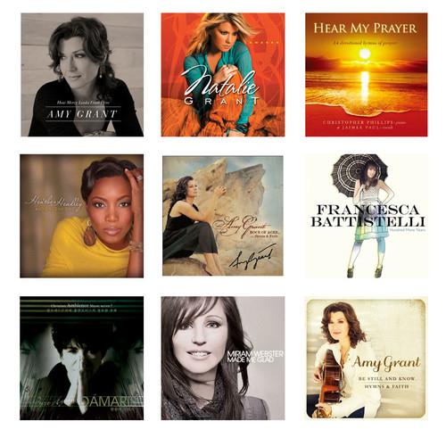 해외 여성CCM 아티스트 음반세트 1 (전15종)