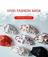 비비드 패션 마스크 크리스마스 에디션 1팩(5매입)