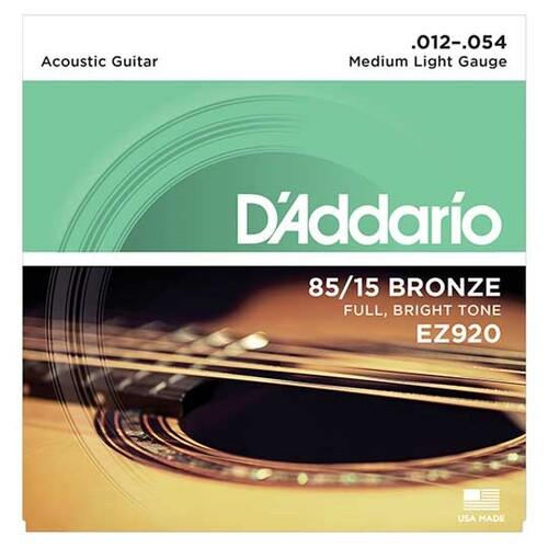 다다리오 EZ920 어쿠스틱 기타줄