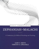Zephaniah-Malachi: A Commentary for Biblical Preaching and Teaching (Kerux) (Hardcover)