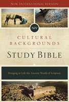 NIV: Cultural Backgrounds Study Bible(영어원서 / hardcover)