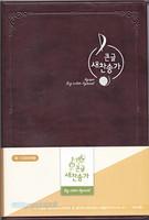 아가페 21C 큰글 새찬송가 대 단본(무색인/무지퍼/다크브라운)