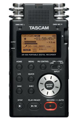 Tascam DR-100 휴대용 디지털 레코더