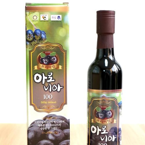 천보식품 아로니아(블랙쵸크베리) 원액(500ml)