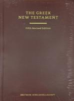 UBS5 Greek New Testament, 5th Rev. Ed.