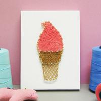 아이스크림 스트링아트(스펀지)