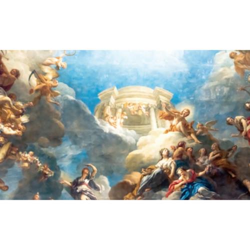 교회현수막(천국)-112( 200 x 120 )