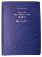 NOVUM TESTAMENTUM GRAECE - 그리스어 영어(NRSV) 대조성경(신약/하드커버/5162)
