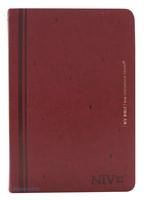 NIV BIBLE 중 단본(색인/친환경PU소재/무지퍼/레드와인)