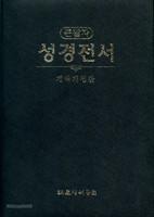 큰활자 성경(무색인/무지퍼/펄비닐/NKR72EB/색상랜덤)
