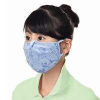 (한셀)신형턱받침 자외선 차단 마스크 / 꽃무늬 3개