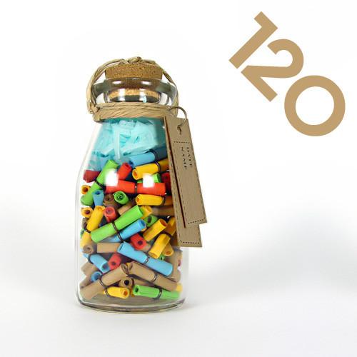 타임캡슐편지 120일 27오색편지 유리병편지