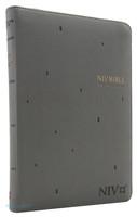 NIV BIBLE 중 단본(색인/친환경PU소재/지퍼/그레이)