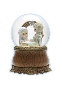 [프레셔스모먼트] 아기예수탄생 워터볼/오르골/인테리어소품