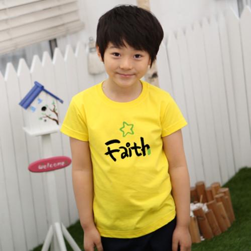 마이제이디_캘리믿음(Faith) 티셔츠(국산순면-8색)