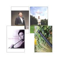 송솔나무의 음반 & 틴휘슬 V2 (C키) 세트(전4종)