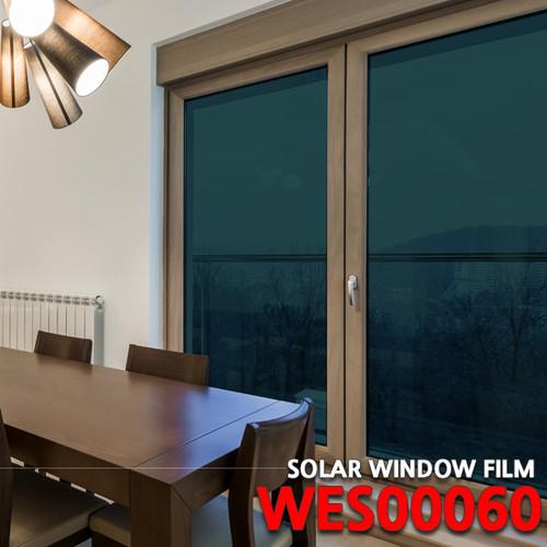 [현대시트] 솔라 썬팅필름 WES00060/그린/창문용시트지/자외선차단 비산방지/사생활보호