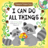 I Can Do All Things with Music CD (Board Book) (HB)