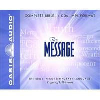 Message: Complete Bible MP3, Unabridged Audio 4 CDs