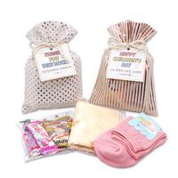 메시지선물 양말 스카프 간식세트 라벨선물포장