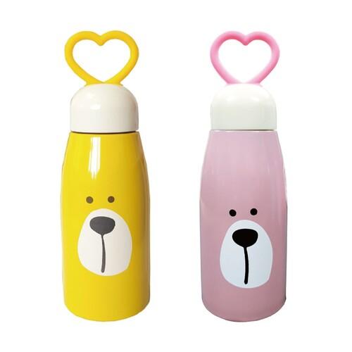 [키즈토이] 곰돌이 어린이 보온병   개별포장박스