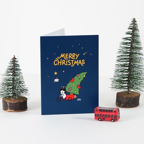 그레이스벨 크리스마스 카드 01.트리든든