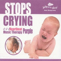 STOPS CRYING! - Heartbeat Music Therapy Purple (CD)