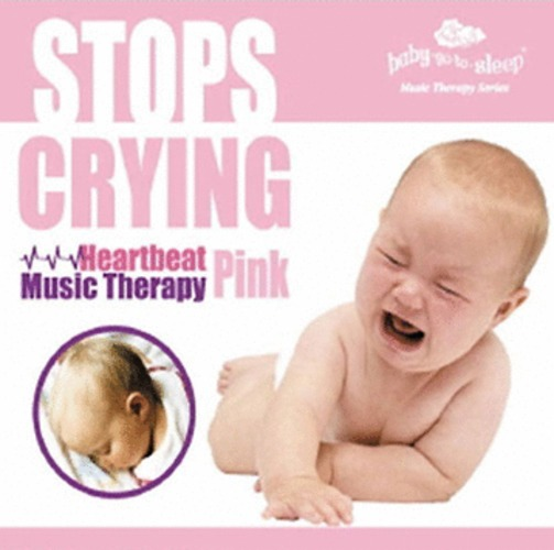 STOPS CRYING! - Heartbeat Music Therapy Pink (CD)