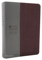NIV 영한대조성경 대 단본(색인/친환경소재/무지퍼/와인콤비)