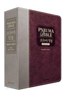 프뉴마 성경 & 21C 새찬송가 합본(색인/이태리신소재/무지퍼/와인투톤)