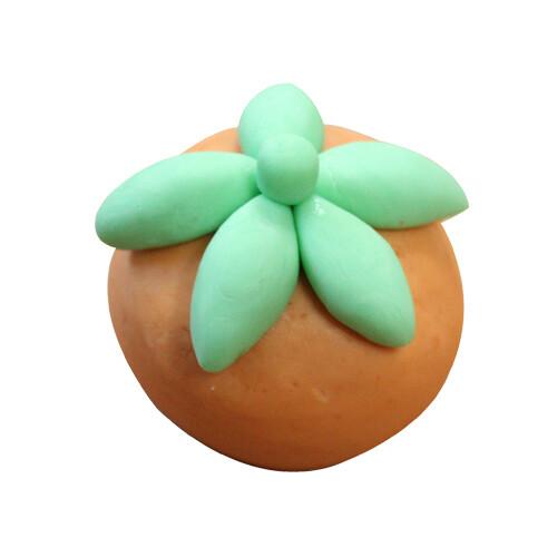 비누클레이 - 감모양떡비누 레몬향(10인용세트)